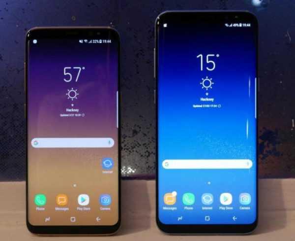 Samsung S8 y Samsung S8 plus
